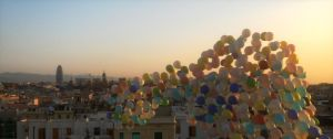 Roofs of Barcelona by merryxmas123