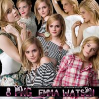 Pack 1 Emma Watson PNG by oscarelnoble
