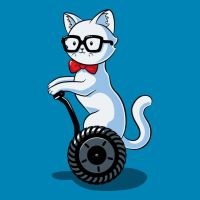 Nerdy Cat by Design-By-Humans