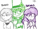 CM - Bored, Lucky, and Nervous by Toon-O-Clock