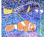 Finding Nemo Pointillism by thearist2013