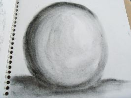 Crappy Sphere Drawing by Keri-Kalamity