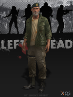 Bill - Left 4 Dead by JhonyHebert