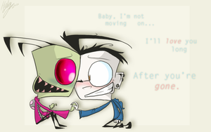 I'm Not Moving On by Invader--ZIM