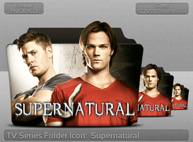 Supernatural TV Serie Folder Icon by atty12
