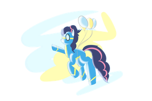 Given from Piinacoloda NEEDS NAME Pinkie X Soarin by PugKing