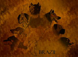 Where the story begins 1st step - Brazil by wolfhound56200