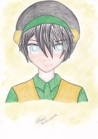 Toph from Avatar - Alie request by Sailor-Aria