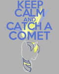 Keep Calm and Catch a comet (Request) by thegoldfox21