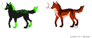 Wolf Adoptables BATCH 6 - CLOSED by Krissi2197