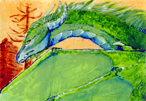 Aceo trade: Elf by goosechimera