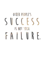 Other people's success is not your failure by emilyCHHIN