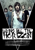 Bring me the horizon poster by jennpops