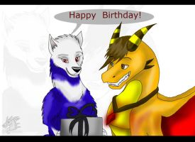 Happy Birthday Geo by The-Lone-Predator
