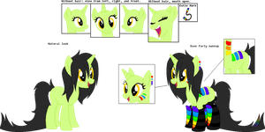 REF SHEET: Glowstick by iAP0C0LYPTIK