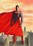 Superman by jdotjam