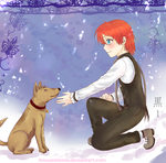 You are a good boy... by hyuugalanna