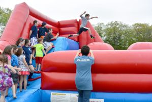 Medway Founder's Day Fun, Leap of Bouncy Faith by Miss-Tbones