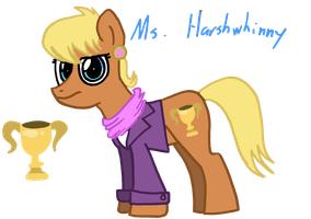 Daily Pony #34: Harshwhinny by SlideSwitched
