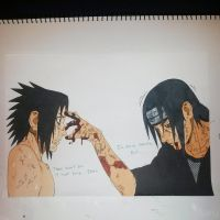 I'm sorry Sasuke, But there won't be a next time. by Ocraxhaydon