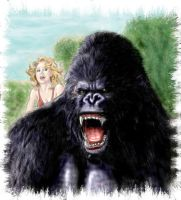 King Kong by PaulSpatola
