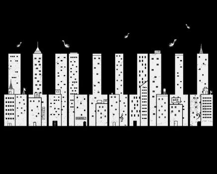 piano skyline by boostr29