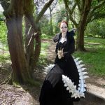 Into the woods -  Whitby goth weekend April by LureofSalvage