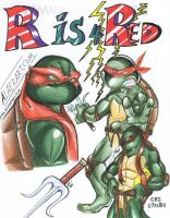 R is for Red and Raphael by alaer