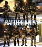 Battlefield 4 MP Troops for Gmod by Kommandant4298