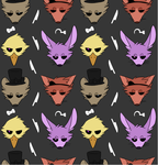 FNaF tiled background by Wheatlley