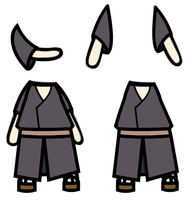 Custom Walfas: Human Village Outfit 1 Male by Unknownfalling