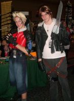 Metrocon 2009- Zell and Squall by The-Rejected-Spork