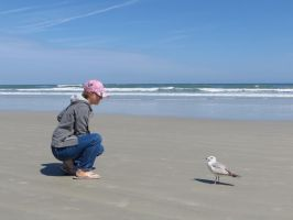 Me with seagull by Rebel-Rider