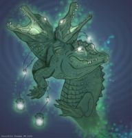 Crocodile Dreaming by All-Crazy-Reptiles