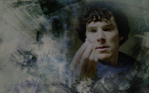 BBC Sherlock Wallpaper 3 by helenecolin