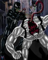 Venom vs. Anti-Venom by MDVillarreal