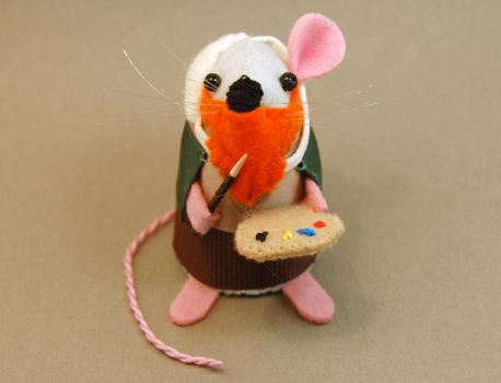 Van Gogh Mouse by The-House-of-Mouse