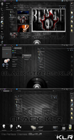 The Perfect Themes: Black KLR by Mughetsu