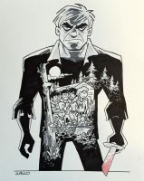 Solomon Grundy at Albany ComicCon 2015 by BillWalko