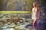 Quietude at the lake - the modern venus by gestiefeltekatze