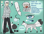 Character Sheet - Yarin by ChibiCorporation