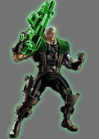Green Lantern Cable by Lord-Lycan