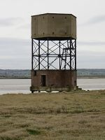 Abandoned radar tower by MOxC