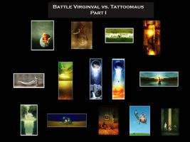 battle Virginval vs. me Part I by Tattoomaus78
