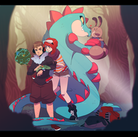 Pokemon: Lost in Ilex Forest
