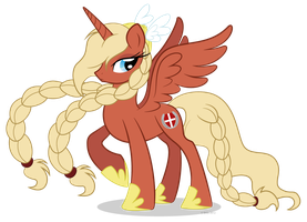 Danish Bronies mascot Valkyria April fools by LittleHybridShila