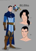 amell character sheet by emedeme
