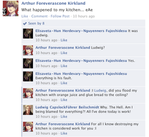 Hetalia Facebook: Iggy's Kitchen by gilxoz-epicness