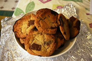 choc chip cookies by synconi