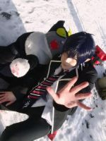 Blue Exorcist Cosplay - Rin and Kuro Cat by K-I-M-I